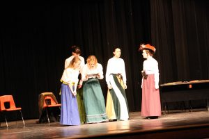 """""""The First Trial of the Cherry Sisters"""" One Act Play will compete at State."""