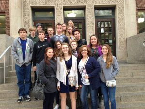 Student Journalists attend the IHSPA Fall Conference in Iowa City Oct. 23.