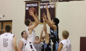 Mount Vernon wins over South Tama Dec. 5, 57-39. Photo by Luke Maddock.