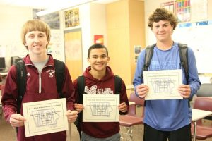 Casey Noska, Chris Grice, Reece Pitlik, Nick Leopold, and Cody Connolly Placed 2nd in IHSPA Video Story for their video Road to the Dome. See it here: http://themustangmoon.com/?p=4981