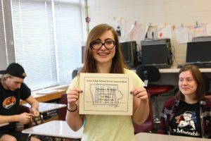 Chelsea Wallace Placed 1st in IHSPA Personality Profile Read it here: http://themustangmoon.com/?p=4348