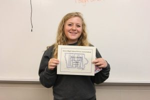 Kate Liberko Placed 1st in #IHSPA Class A Video Story about the Musical Theatre J-Term. See it here: https://www.youtube.com/watch?v=MlC_nTP1xZw