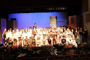 The cast of Les Misérables. Photo by Breanna Jones