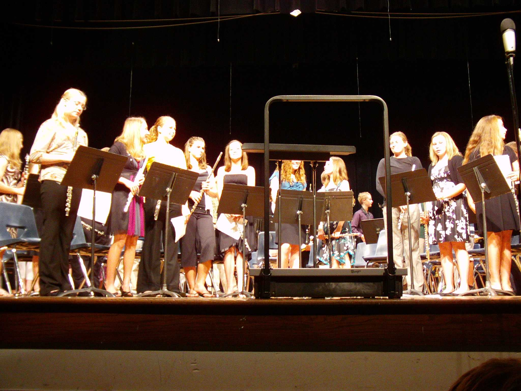 6th and 7th grade bands perform fall concert