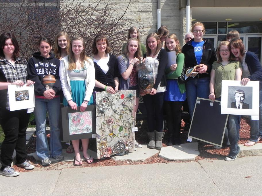 Students Compete at WaMaC Art Show