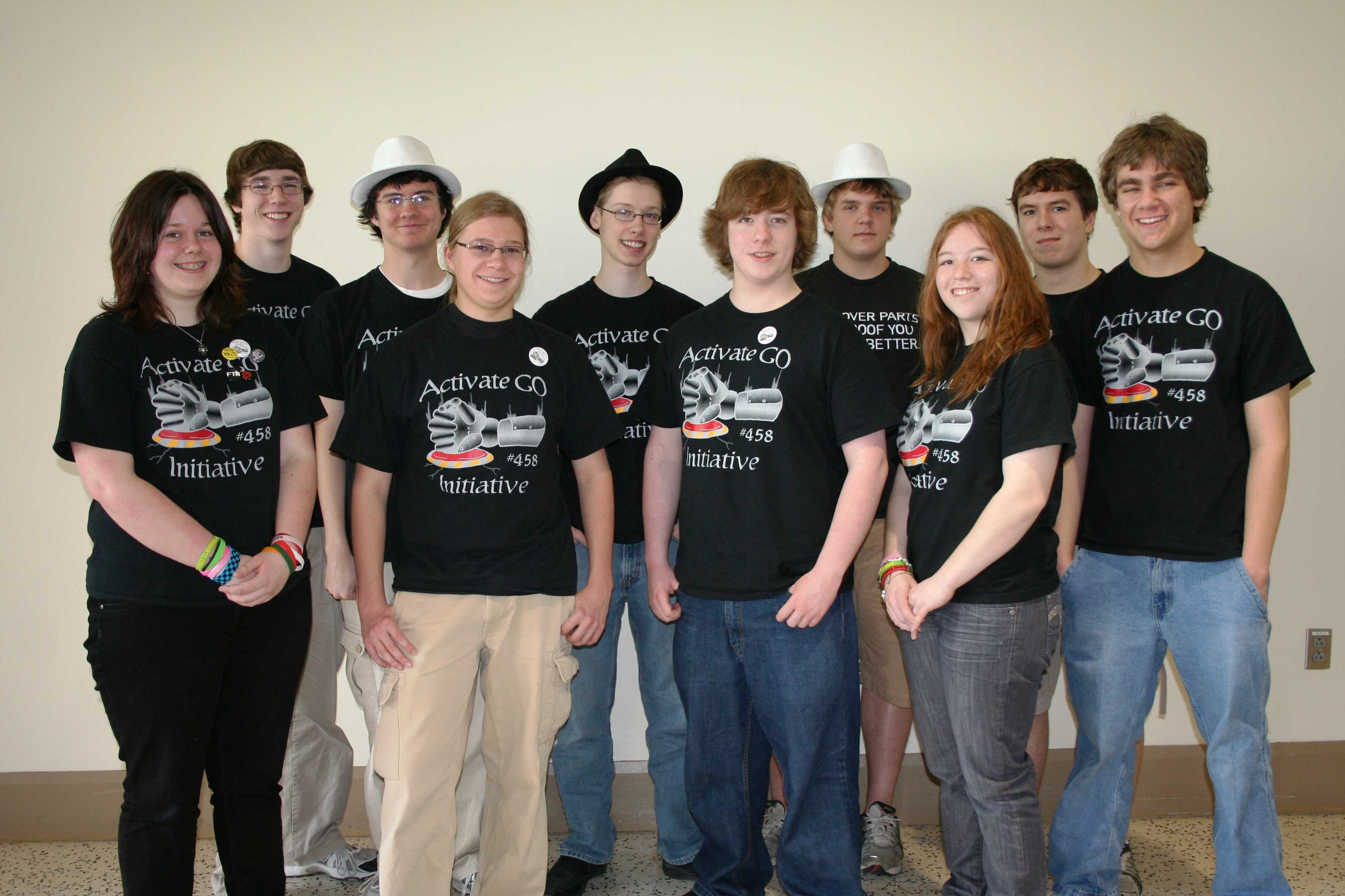 Robotics team finishes 12th at world competition