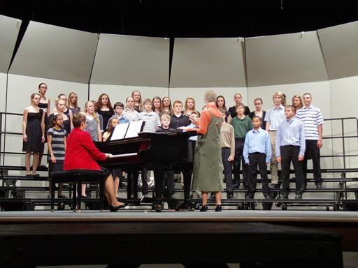 Eighth Grade Choir Concert Video