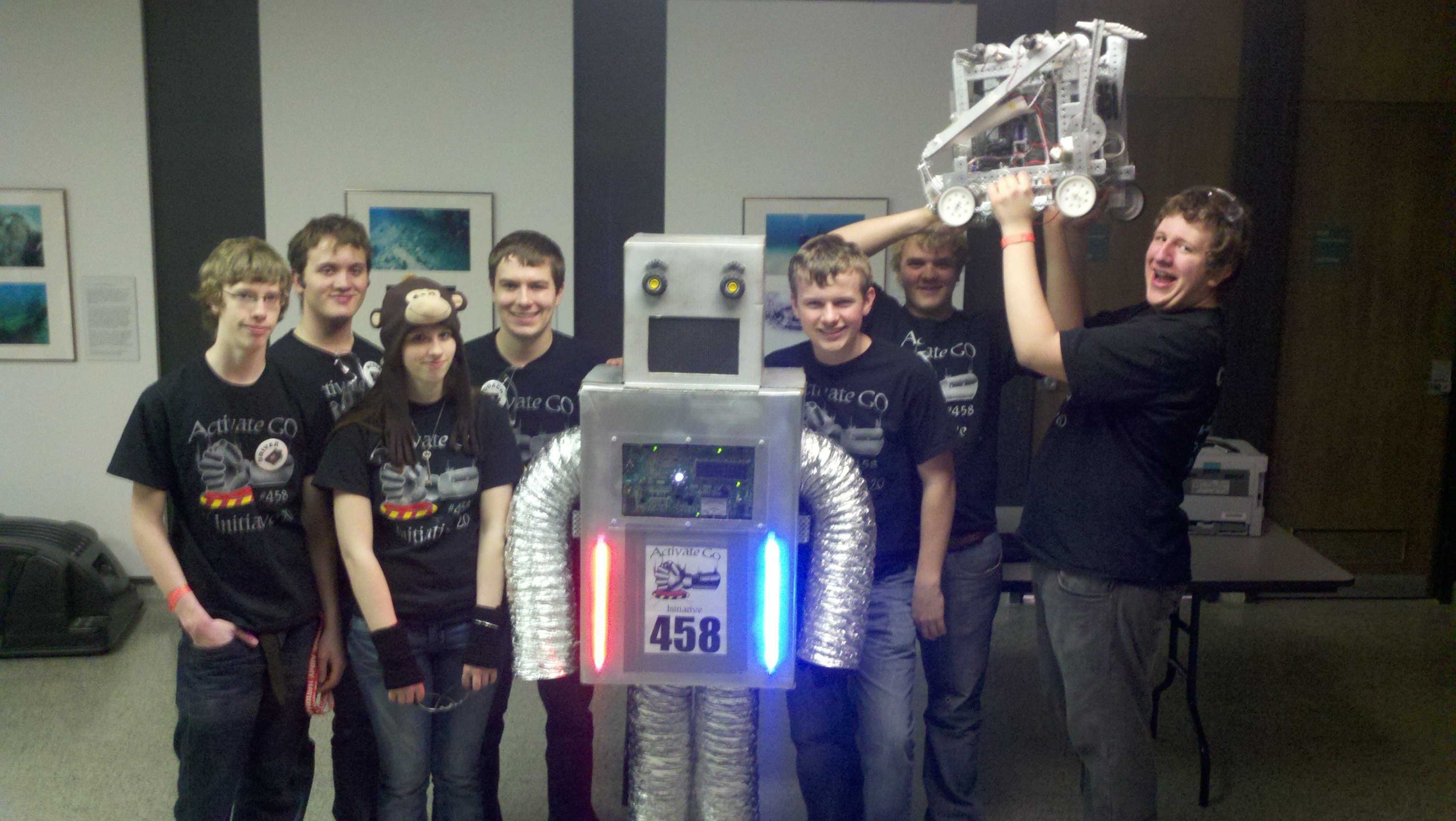 Robotics teams honored in Milwaukee
