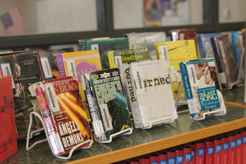 Top 30 Books Checked out at MVHS