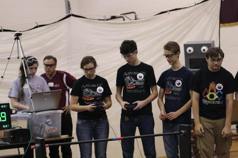 Both Robotics Teams Qualify for State