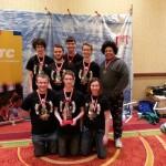 Team 458 with Finalist Alliance Award