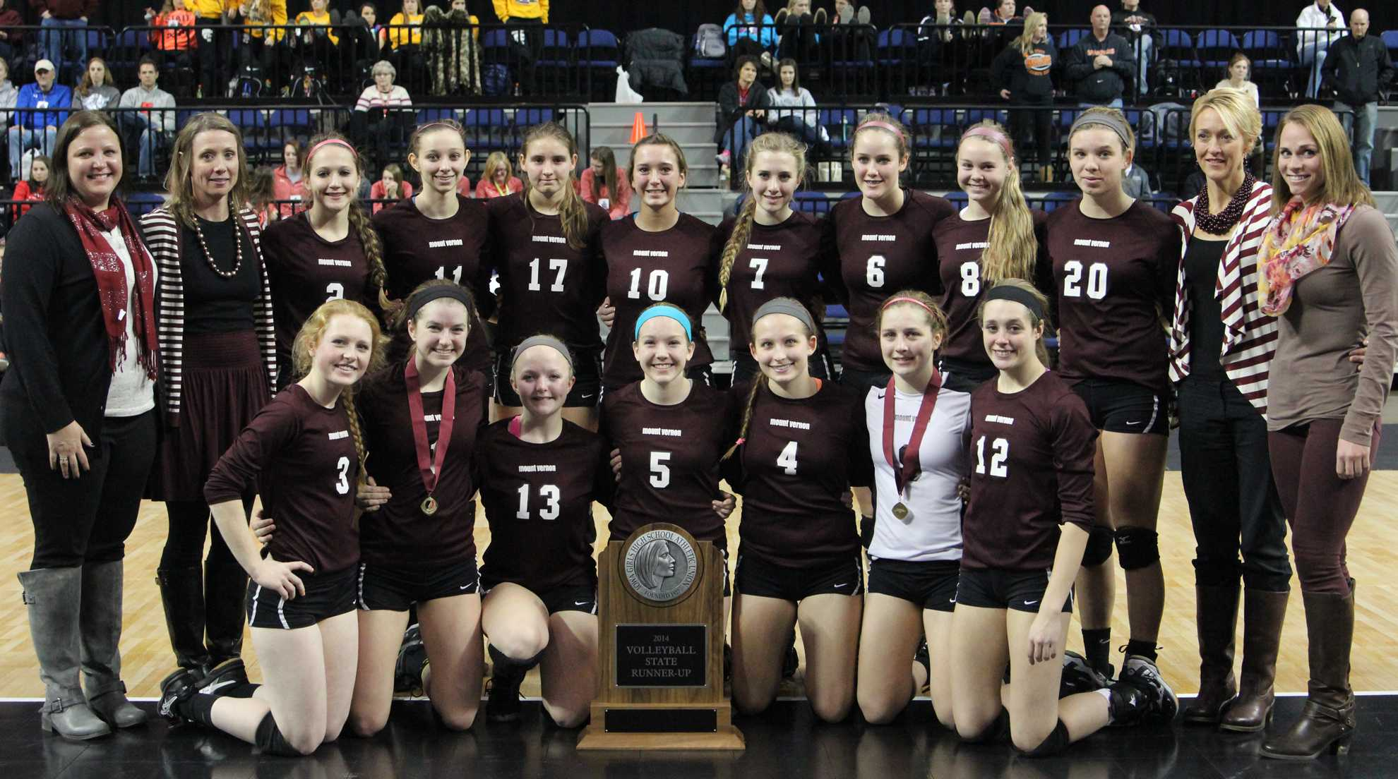 Volleyball Team Places 2nd in 3A State Competition