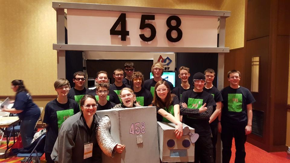 Robotics Team Competes at State Today