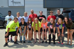 This group of leaders and students from Veritas Church went on the 2016 Mission Trip.
