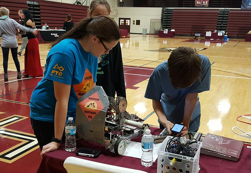 Robotics Girls Help Recruit More Females into Science