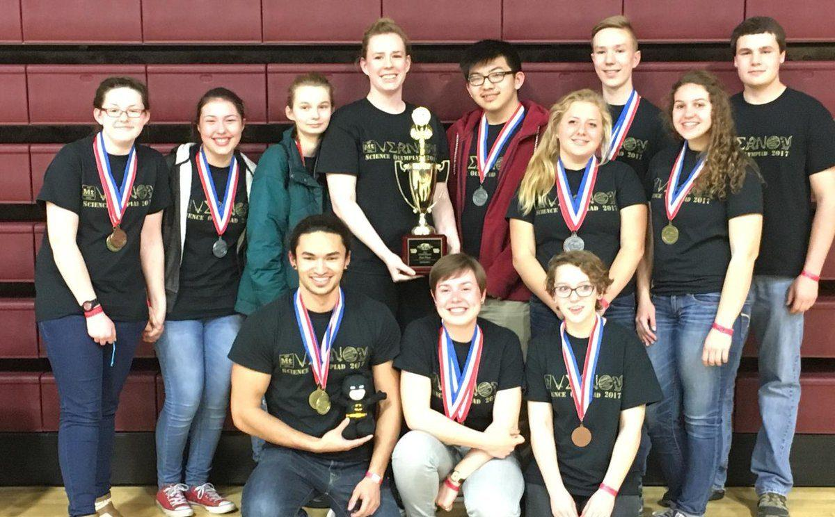Science Olympiad Places First at State