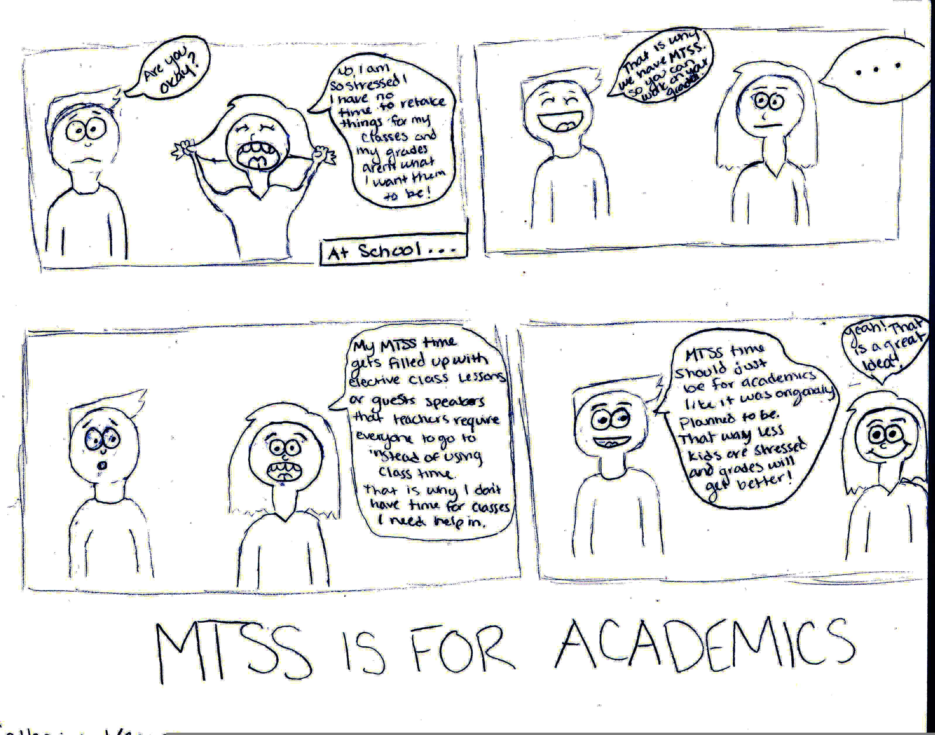 MTSS: Academics Should Be a Priority