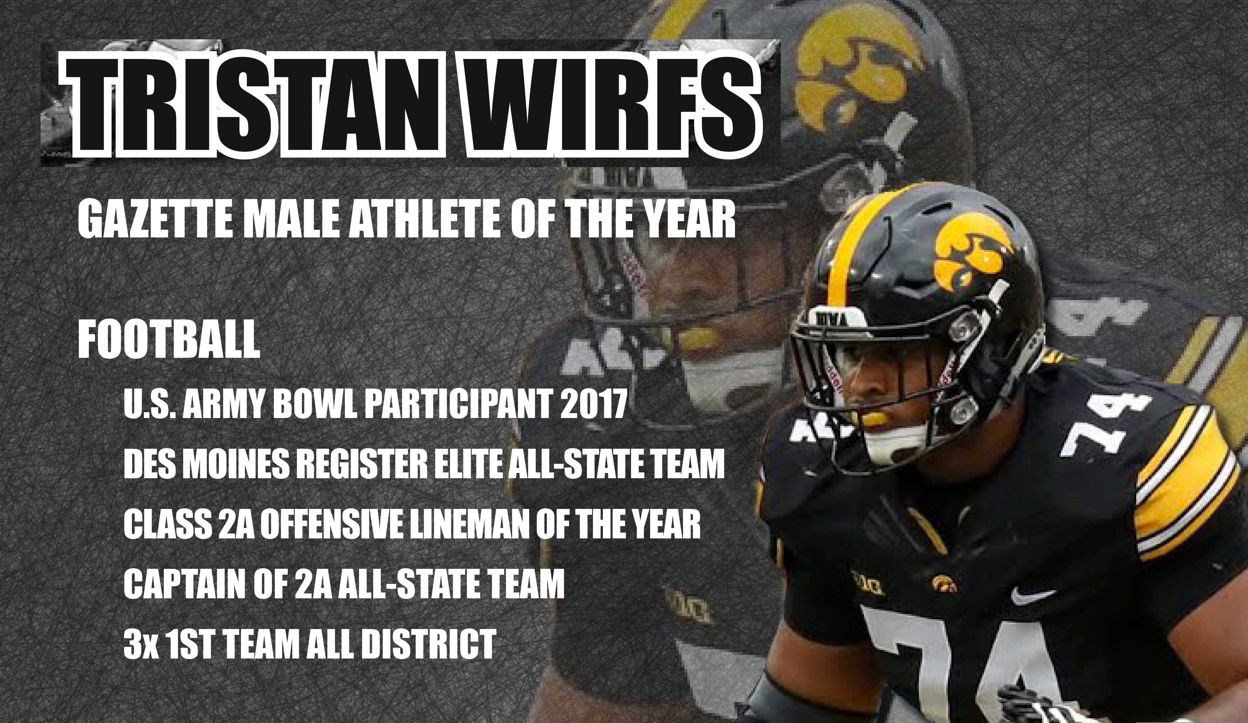 Tristan Wirfs: Mustang to Hawkeye Football Player