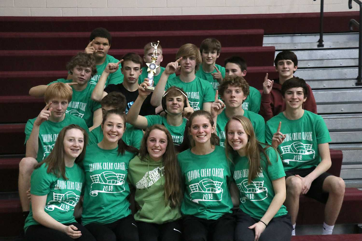 Freshman Team Wins Shaving Cream Classic