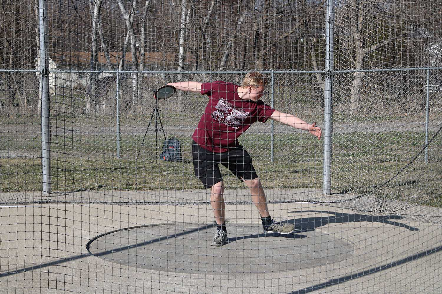 Matt Vislisel's Post Season Discus Run