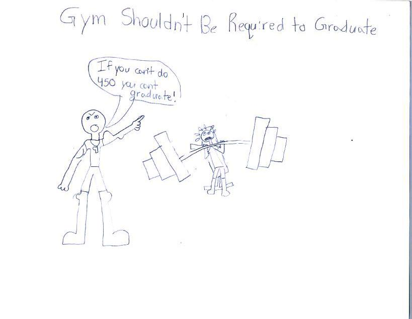 Gym Should not be Required to Graduate