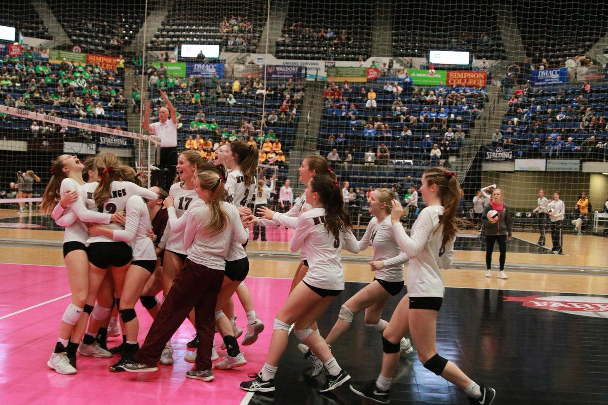 Mustangs Advance to 3A Volleyball State Semifinals