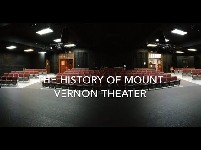 The History of Mount Vernon High School Theater
