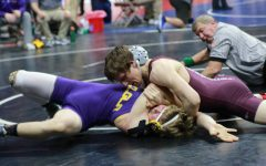 Mustangs Have Solid First Round at State Wrestling