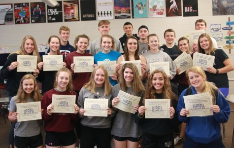 Mount Vernon named All-Iowa News Team Finalist, 40 Students Win Individual Honors