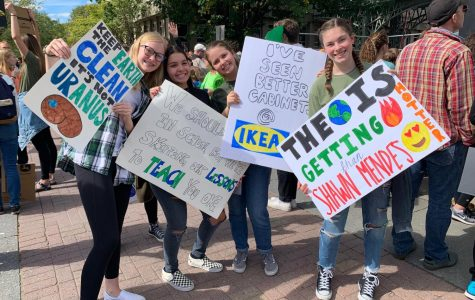 Students Attend Climate Strike