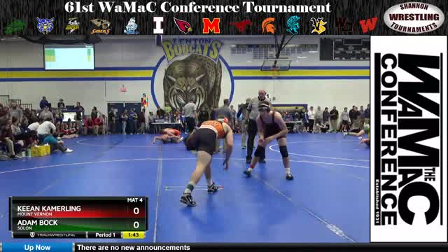 Kamerling at the WaMaC conference tournament