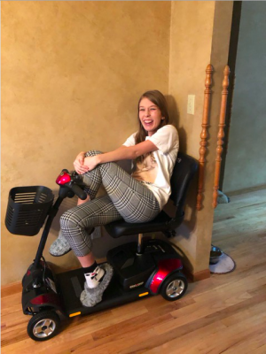 Scooting Around with Hannah Dewitte