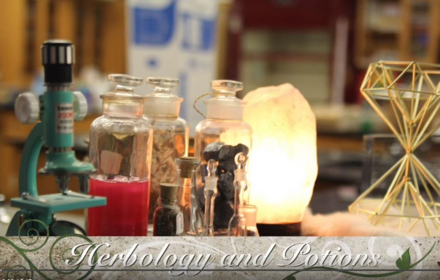 Herbology and Potions J-term Video