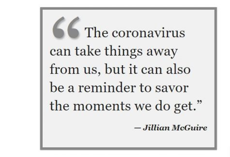 Let the Coronavirus Provide Lessons Among the Chaos
