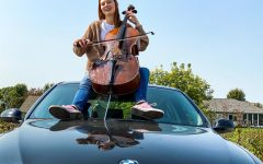 Navigation to Story: Anna Moore Chills with the Cello