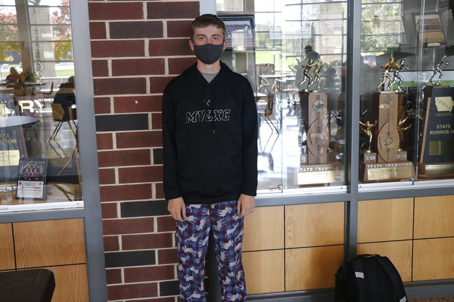 Aden Grudzinski on pajama day.