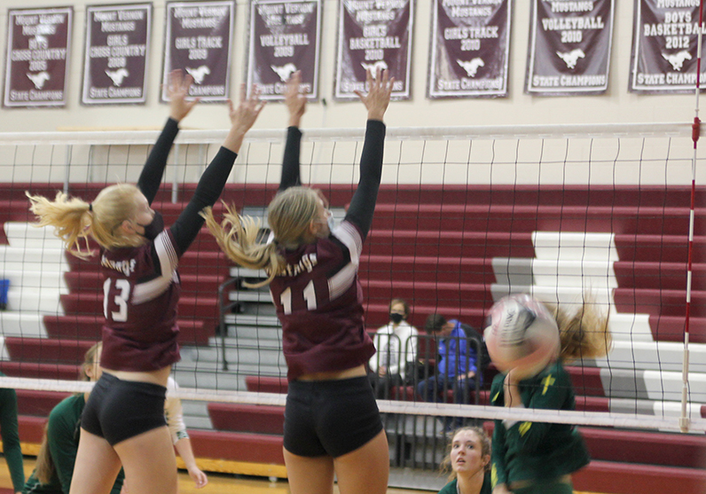 JV Volleyball Team Wins Against Beckman Catholic at the JV Invitational