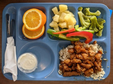 Orange Chicken is the favorite lunch of MVHS students.