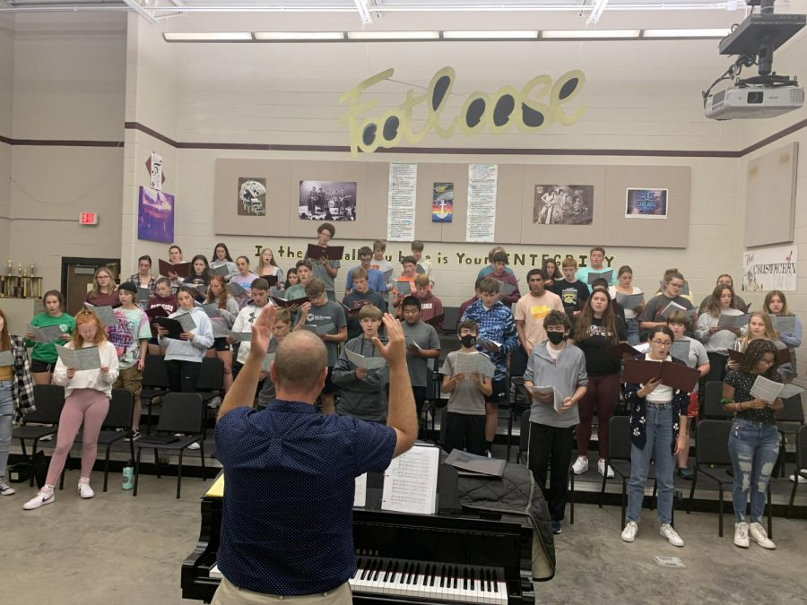 Kicking Off The Year With MVHS Concert Choir