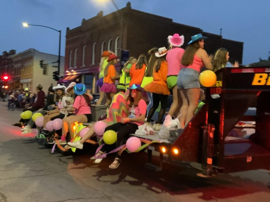 Volleyball Float